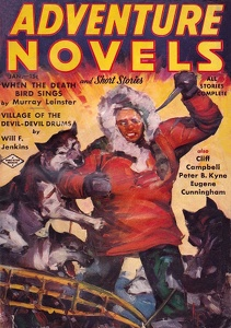 Adventure Novels and Short Stories 1938-01