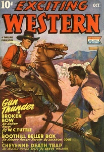 Exciting Western 1944-10